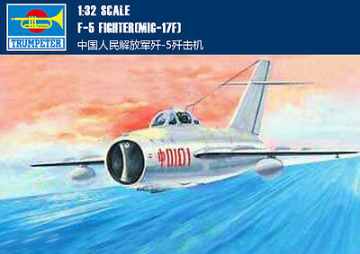 GMAF3203 MIG 17 1:32 CORRECTED TAIL TRUMPETER WARBIRDS