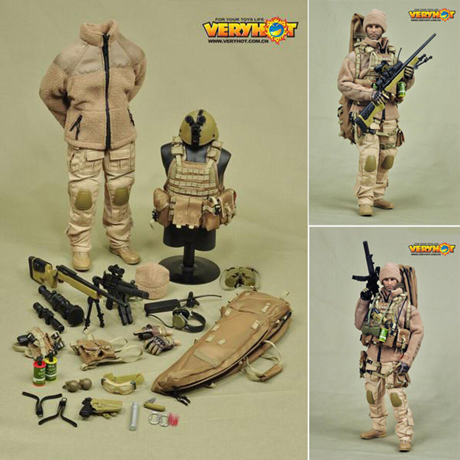 Hot Figura Toys 1/6 Vh Veryhot 1020 Francotirador mercenarios de arena