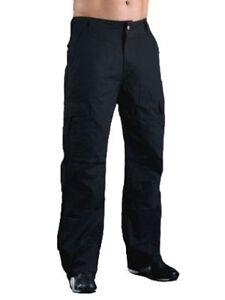 Motorcycle-Jeans-cargo-Black-Hornee-SA-M9-Regular-Fit