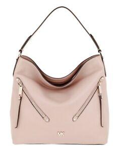 Details about Michael Kors Bag Handbag Bag Evie LG Hobo Leather Soft Pink New 30t8gzuh7l