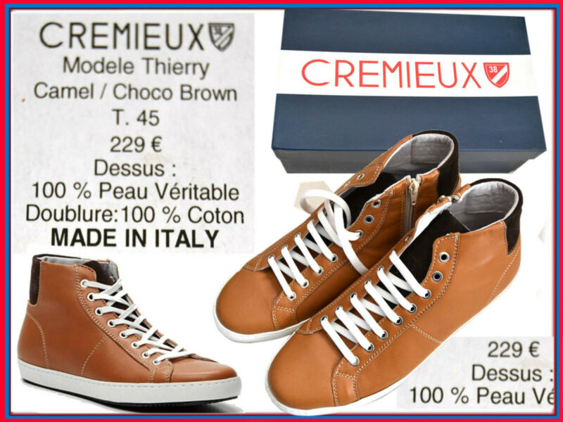 Cremieux Made In Italy Boots Herren 45 Eu 11 Uk 12 Us Pvp 229 Euro Cx01 N3p