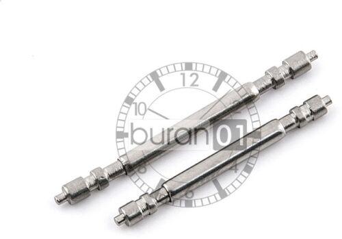 20 Federstege passend für RLX u anderen Luxusuhren Stärke 18 22,24mm