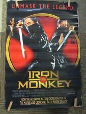 One Sheet Movie Poster Original Rolled Iron Monkey Starring Jean Wang  #119
