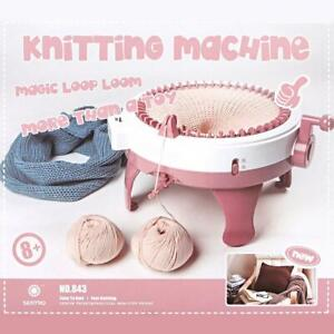 48-Needle-DIY-Hand-Knitting-Machine-Weaving-Loom-for-Scraf-Hat-Children-Kids-Toy