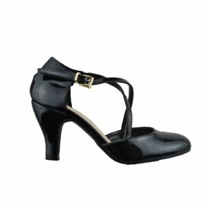 Schuhe-Pumps-Frau-Modell-Von-Tanz-Mit-Der-Absatz-IN-Farbe-Schwarz-Made-Aus-Ital