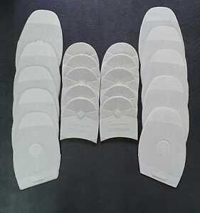 10-Paar-Sohlen-Gummisohlen-amp-5-Paar-passende-Absaetze-von-INDIANA