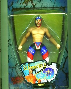 Wwf Patriot W / Rib Buster Action slammers 2