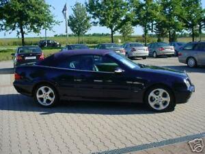 Mercedes-DB-CLK-208-Cabrio-Verdeck-Einbau-Anleitung-EBA