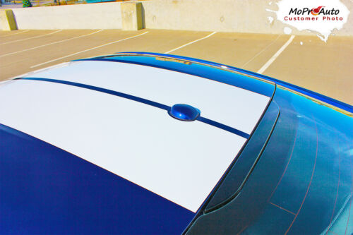 2015-2017 Ford Mustang GT V6 STALLION Rally Racing Stripes 3M Pro Graphic PD3218