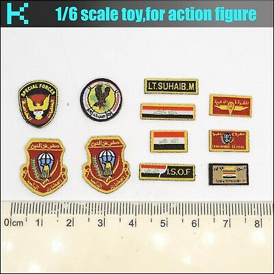 Y46-42 1//6 scale Soldier Story SS105 ISOF PATCH SET