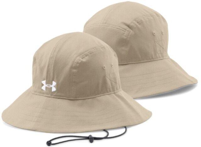 NEW Under Armour Mens Air Vent ArmourVent Bucket Hat-Navy//Grey OSFA