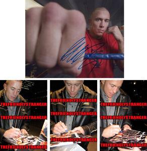 "GEORGES ST PIERRE GSP signed Autographed ""UFC"" 8X10 PHOTO C - PROOF - Champ COA"