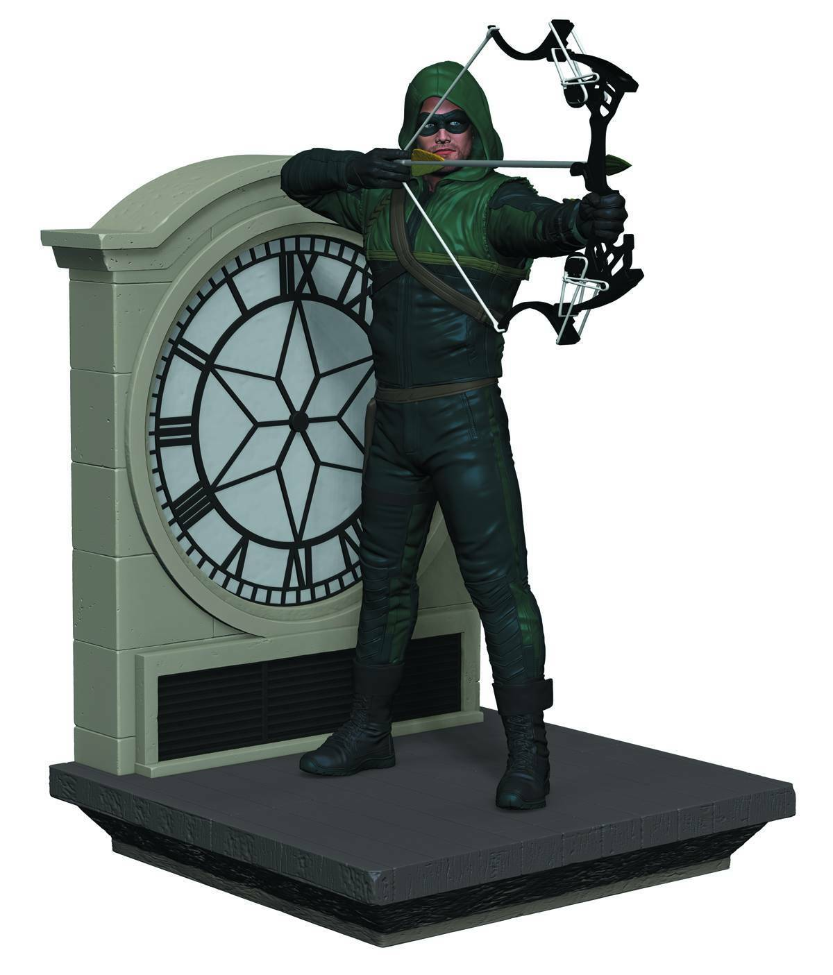 ARROW CW TV SERIES BOOKEND STATUE  MIB  STEPHEN AMELL