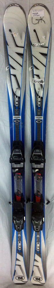 K2 Ikonic RX Skis 156 cm with M3 10.0 Bindings - USED - Gold - R