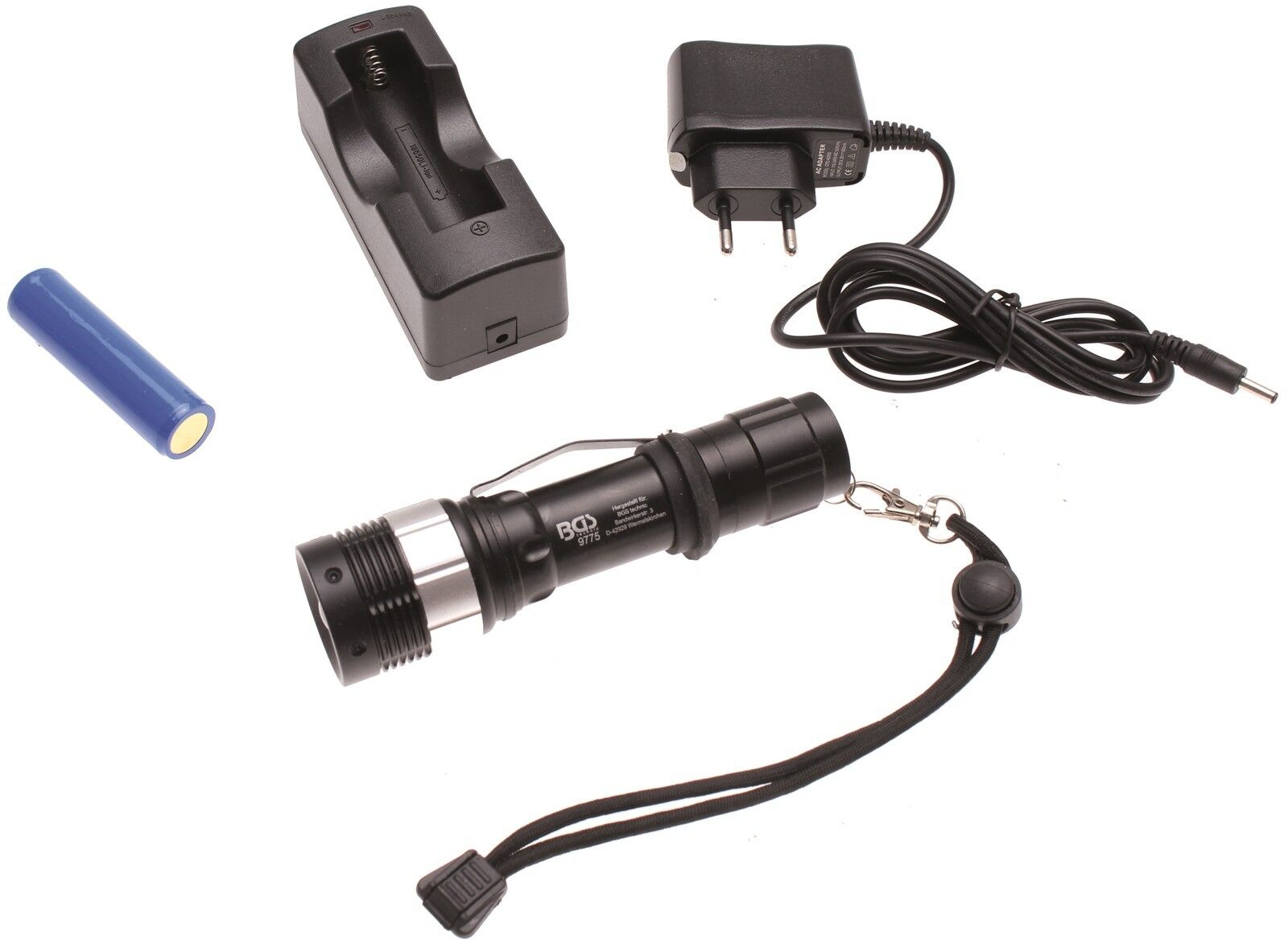 BGS   Highpower-LED Multfunktions AKKU Taschenlampe Lampe 160 Lumen Leuchte IP63  | Neue Produkte im Jahr 2019