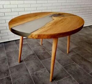 Coffee Table Coffee Table Epoxy Epoxy Resin Wood Table Solid River