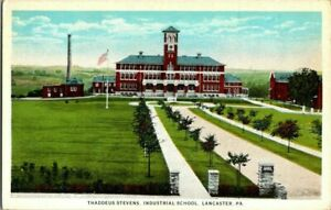 1918-LANCASTER-PA-THADEUS-STEVENS-INDUSTRIAL-SCHOOL-POSTCARD-T23