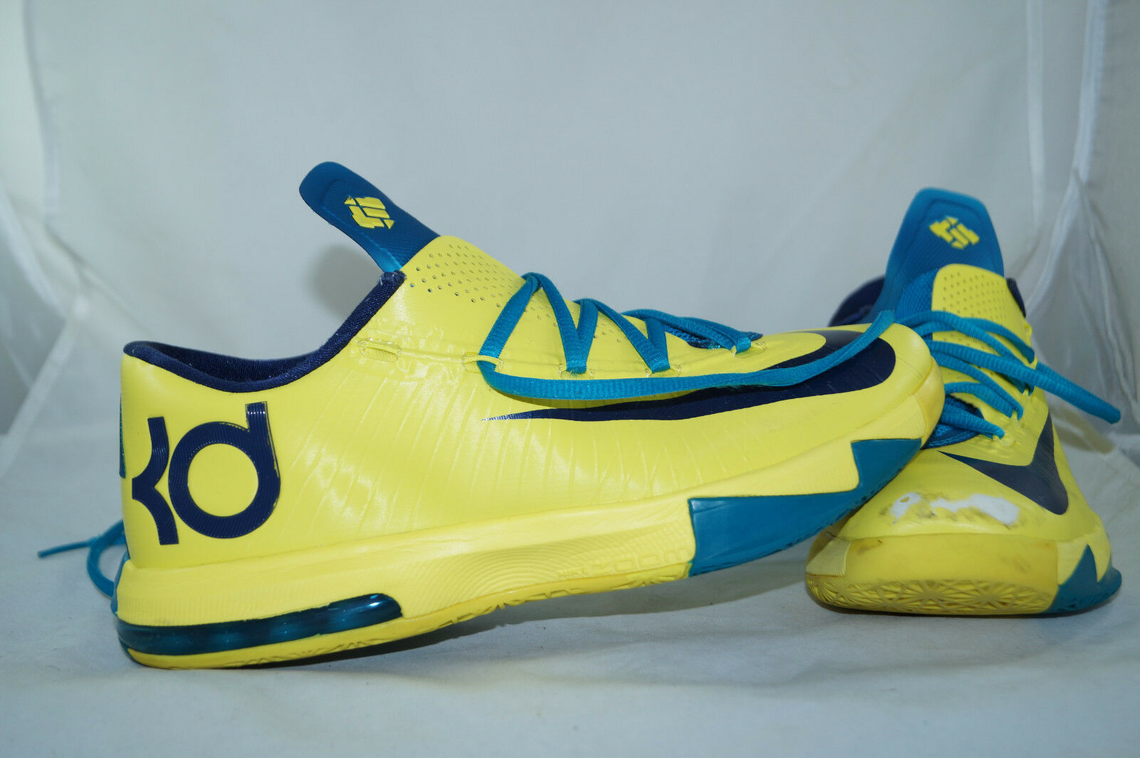 Nike Air Zoom KD VI Durant  Sonic Gelb Gr  42 - 41,5  Basketball Low Tops