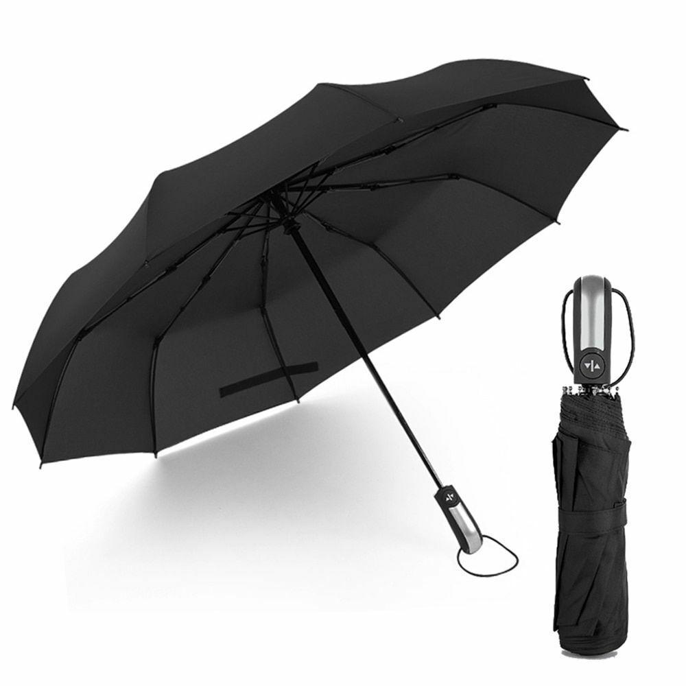 New Windproof Folding Automatic Umbrella Rain Women Men Wind Resistant Business