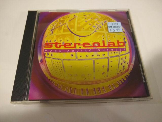 Stereolab  U200e U2013 Mars Audiac Quintet - 1994 Cd