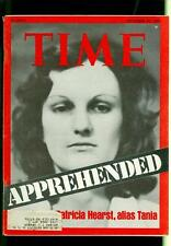 1975 Time Magazine: Patricia Hearst- Tania- Apprehended- September 29 p3r4