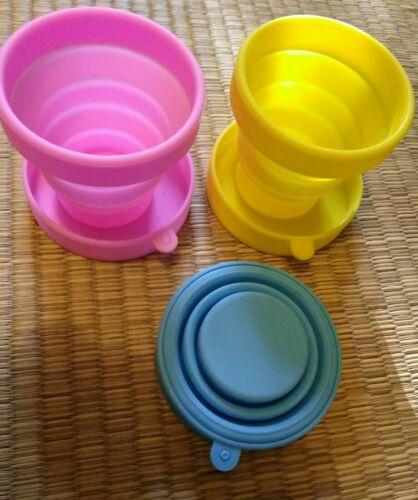 Tasse gobelet pliable pour camping voyage refermable lavable résiste chaleur