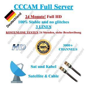 CCCAM Service 24 Months Dreambox vu + Sat und Kabel   eBay