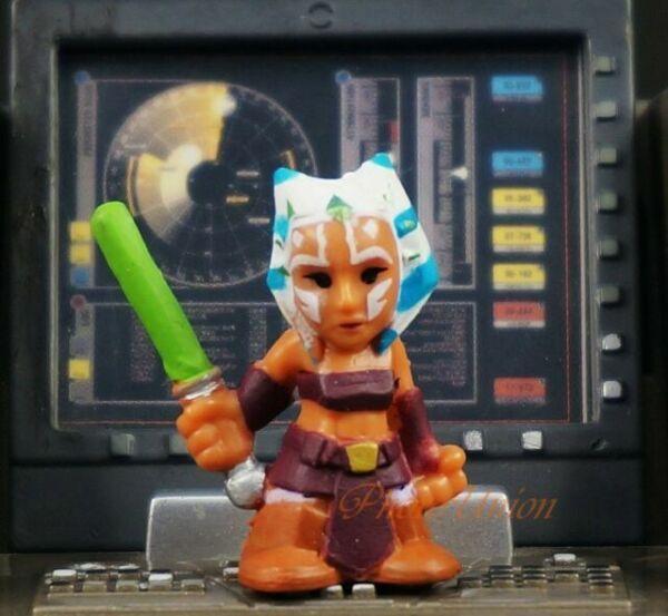 K18 Hasbro Star Wars Fighter Pods Micro Heroes Mace Windu Jedi Knight Toy Model