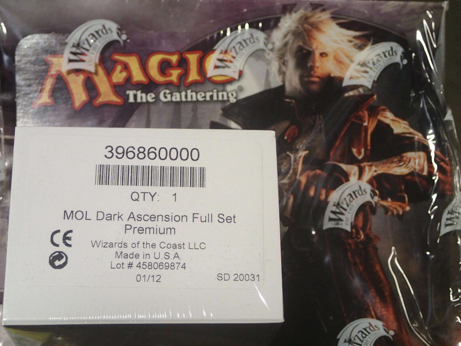 Magic the Gathering Dark Ascension PREMIUM FOIL set, Factory Sealed Box WOTC MTG
