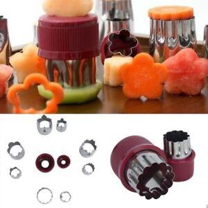 Set-of-8pcs-Stainless-Steel-Flower-Shape-Rice-Vegetable-Fruit-Cutter-Mold-Slicer