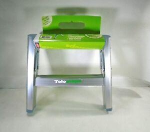Incredible Details About New Telesteps 100Ss 12 Aluminum Folding Step Stool Inzonedesignstudio Interior Chair Design Inzonedesignstudiocom