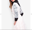 Topshop-White-Pleated-Lace-Floral-Short-Sleeve-Dress-Size-14-US-10-Blogger