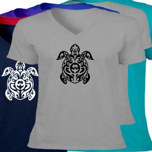 Ocean-Sea-Turtle-Mens-Women-Unisex-VNeck-Tee-T-Shirt-Sea-Life-Lover-Gift-S-2X