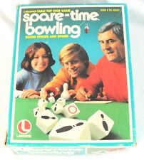 Vintage Spare Time Bowling Board Game