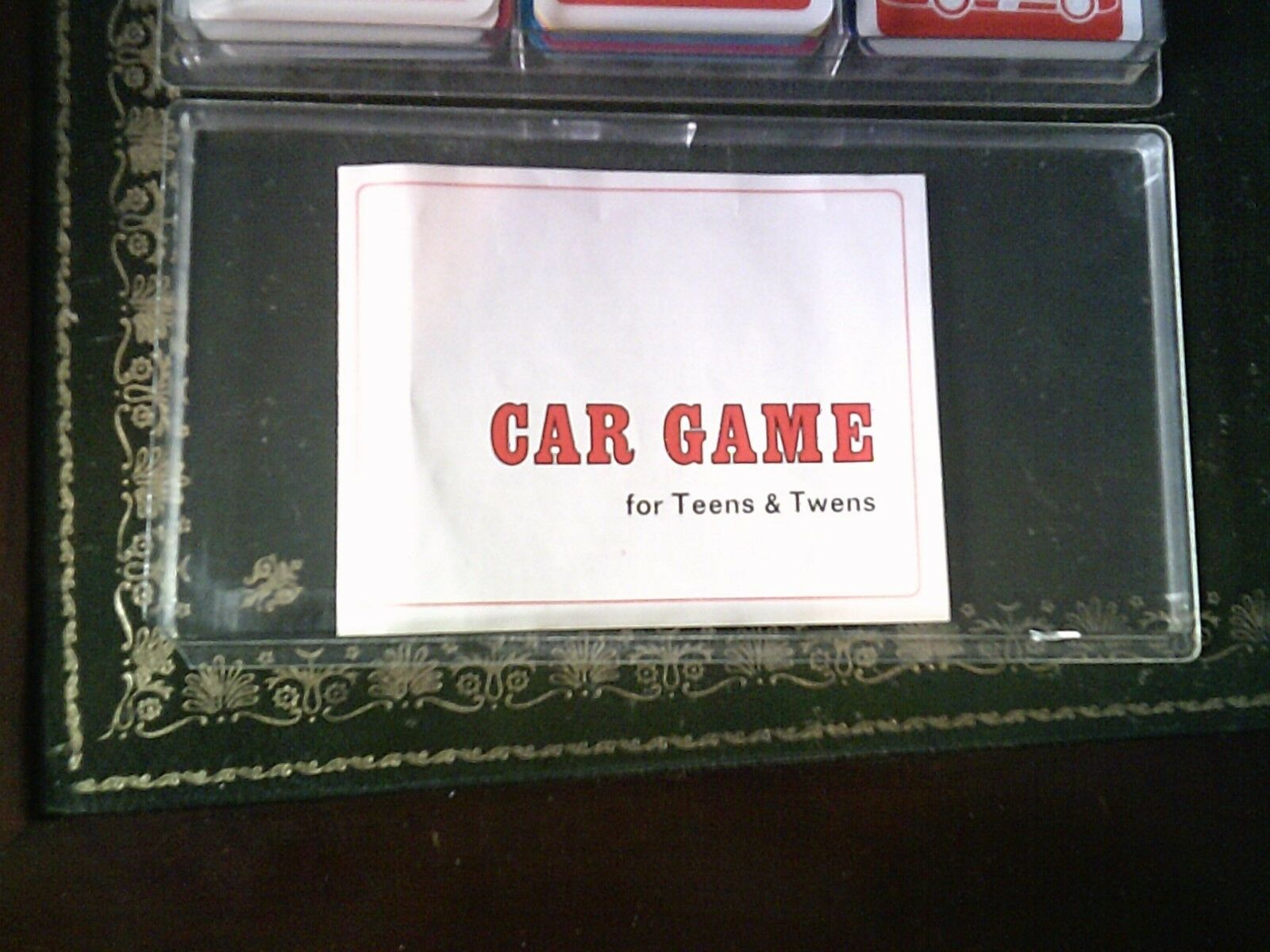 Car Card Vintage Game by Ace, Vintage Card Card Game 73e949