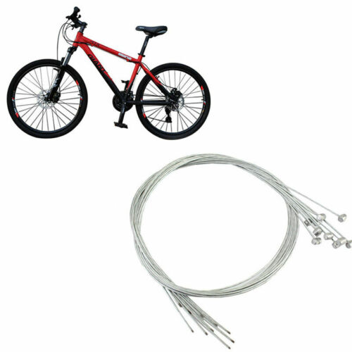 2 x Stainless Bicycle Gear Shift Cable Derailleur Shifter Inner Shift Cable E3E9