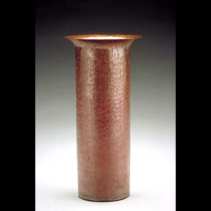 New Hand Hammerot F.L.W. Russian Copper Vase - Free Shipping