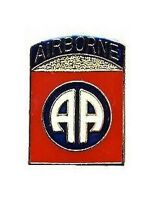 Us Army 82nd Airborne Division Lapel Pin Hat Tie Tac Brass Medium Chn