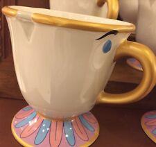 NEW Disney Parks Beauty and the Beast CHIP Teacup Ceramic Coffee Tea Mug Cup