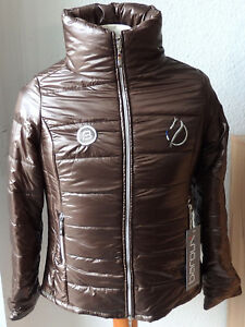 Femmes Matelassée- marron- taille S- col- CATAGO Baroux- PRIX RECOMMANDÉ 99-90 €-afficher le titre d`origine BTLBildZ-07134221-758391858
