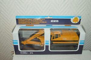 Excavator-Hydraulic-Cat-225-Caterpillar-Joal-Die-Cast-1-70-New-Box-1980