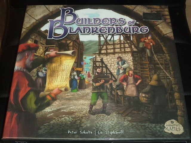 Builders of Blankenburg - Cobblestone Games Board Game New