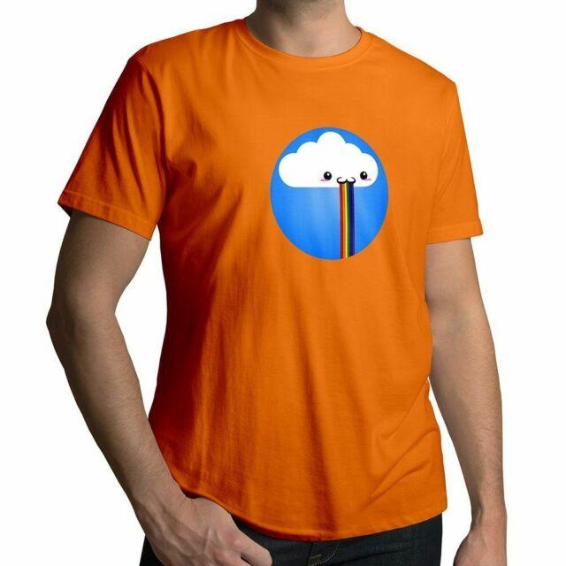 Snapchat Rainbow BARF Filtre drôle Cloud vomir Unisexe Enfants Garçon Tee Youth T-Shirt