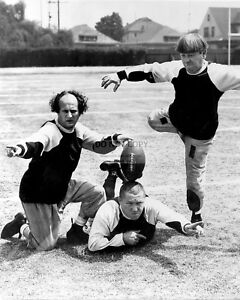 Three Stooges Map Of Europe.The Three Stooges In The Short Film Three Little Pigskins 8x10