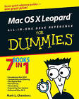 Mac OS X Leopard All-in-one Desk Reference For Dummies by Mark L. Chambers (Paperback, 2007)