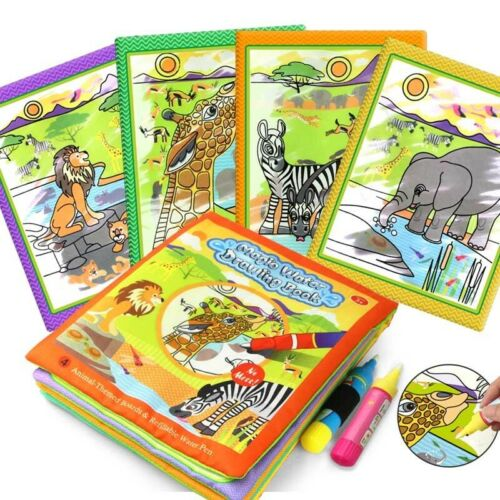 Magic Water Drawing Books Early Learning Toy Coloring Book Reusable Educational