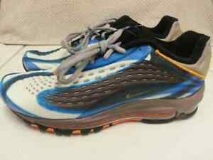 Details about Nike Air Max Deluxe Photo Blue Orange Peel Men's Sz.8.5 AJ7831 401