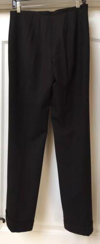 lana da Pantaloni pantaloni Lafayette misto 6 taglia 148 nera donna in con BOqxwawY4U
