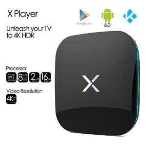 X player Android 60 TV BOX 2 GB RAM 16 GB ROM Amlogic S912 4K HDR 5G wifi - <span itemprop=availableAtOrFrom>Welwyn Garden City, United Kingdom</span> - X player Android 60 TV BOX 2 GB RAM 16 GB ROM Amlogic S912 4K HDR 5G wifi - Welwyn Garden City, United Kingdom