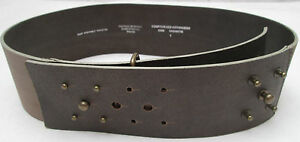 AUTHENTIQUE-ceinture-COMPTOIR-DES-COTONNIERS-cuir-en-parfait-etat-vintage